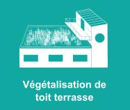 Végétalisation toit terrasse Dijon